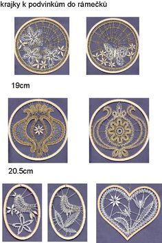 Strana 3 Lace Heart, Lace Jewelry, Tatting Lace, Bobbin Lace, Lace Detail, Decorative Plates, Miniatures, 3, Yarns