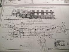 Plan of Diagon Alley - Harry Potter - Warner Brothers Studios London