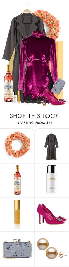 """""""78"""" by tezart2 ❤ liked on Polyvore featuring La Mer, Tracie Martyn, Manolo Blahnik and Kayu"""