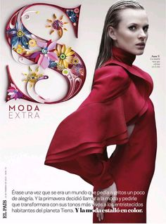 Gucci Cover - Smoda Spain, February 2013