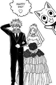 Why can't this just happen? Fairy Tail Nalu (Natsu and Lucy).