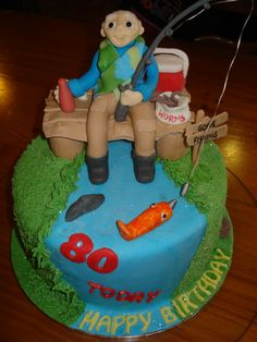 Image result for fishing cakes images Cakes Pinterest Cake