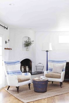 Ojai Living Room | The Polished Pebble | Cottage