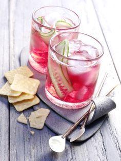 Cranberry Gin Tonic Rezept