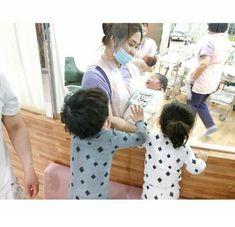 Cute Asian Babies, Korean Babies, Asian Kids, Cute Babies, Father And Baby, Dad Baby, Baby Kids, Baby Boy, Cute Little Baby