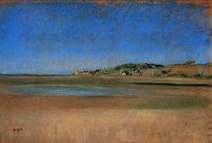 Edgar Degas - Landscape