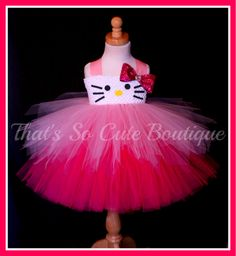Say Hello to Miss Kitty Tutu Dress