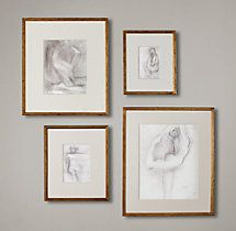 Gilt Gallery Frames 11x14 $80