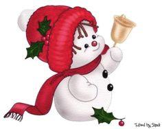 Snowmen   Free Digital Images