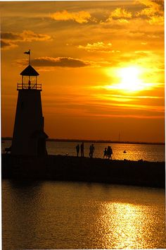 Lake Hefner, East Wharf Lighthouse, OK City