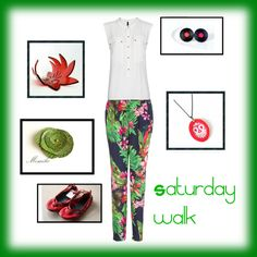 """""""Saturday morning walk"""" by pinezajewelry on Polyvore  Clothing : www.mangoshop.com  Shoes : http://www.etsy.com/shop/TheDrifterLeather  Necklace: http://www.etsy.com/shop/HunkiiDorii  Earrings: http://www.etsy.com/shop/MADEbyMADA  Brooch: http://www.etsy.com/shop/MOSAIKO  Bracelet: http://www.etsy.com/shop/HelenaRibeiro"""