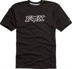 Fox Transmission SS Tech Tee Mens Black 03580 001 Ecklund Motorsports