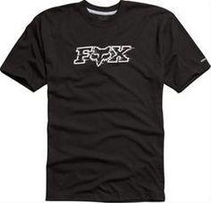 Fox Transmission SS Tech Tee Mens Black 03580 001 Ecklund Motorsports