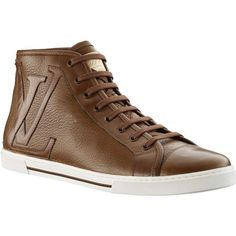 Louis Vuitton Punchy Sneaker Boot In Grained Calf Leather Ypfu2Pgc_D Buh