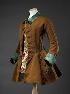 Riding Jacket — The John Bright Collection 18th Century Dress, 18th Century Costume, 18th Century Fashion, 17th Century, Historical Costume, Historical Clothing, Riding Habit, Horse Riding Clothes, Vintage Outfits