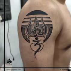 Shiva is the first love and always be the ultimate love.He is the destroyer who ends the life cycle and… Om Symbol Tattoo, Type Tattoo, Arm Band Tattoo, Body Art Tattoos, Tatoos, Forearm Tattoos, Tattoo Art, Tattoo Sleeve Filler, Lion Tattoo Sleeves