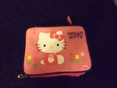 New Hello Kitty pink tulips lunch box cool kids school supplies cartoons