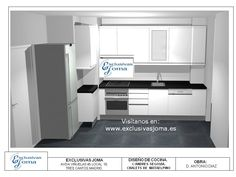 ¡¡Nuevos diseños de las viviendas del nuevo Tres Cantos!!    ya tenemos diseños de cocinas nuevos para la calle Cataluña!!   ven e infórmate de nuestros precios!! Visítanos en : www.exclusivasjoma.es