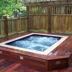 Build Hot Tub Framing