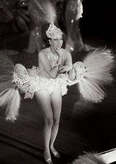 Josephine Baker at the Casino de Paris, December 1939. Photo by Boris Lipnitzki #dancefashion