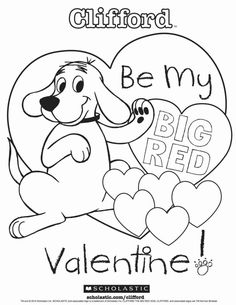 Clifford Coloring Pages Baby Clifford Coloring Pages First Autumn