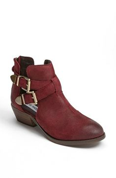 Steve Madden 'Cinch' Bootie available at #Nordstrom. In black, of course!