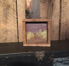 Rustic Art, Engraved Wood, Primitive Home Decor, Wall Art, Forest Landscape, Trees, Cabin, Lodge, Reclaimed Wood, Office Decor, Mantle Shelf