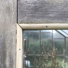 Swapped the garden fork for a tenon saw hammer and nails for a while. The moulding strips that held the glass into this #greenhouse door had rotted completely in places and this big window was threatening to fall out sometimes only the handle keeping it in. A little job made only slightly more complicated by the realisation that the whole structure's sagged slightly and the door's no longer square! Sorted now just in time for chillis. . #mystoryoflight #peninpractice #olympusuk…