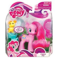 Our My Little Pony - Pinkie Pie is a bright-eyed pony figure comes with a mouse figure pal who rides in her saddle! Pony figure wears the saddle! Pony figure comes with . Pinky Pie, Pony Saddle, Babies R Us, Toys R Us, My Little Pony Friendship, Twilight Sparkle, Rainbow Dash, Our Baby, Doll Accessories