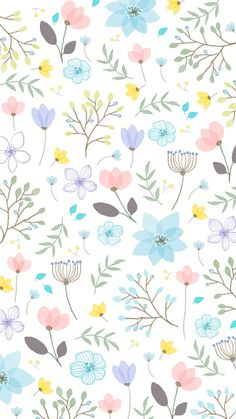 Super Ideas For Wall Paper Phone Flower Floral Prints