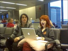 Hayley Williams and Taylor York // Paramore