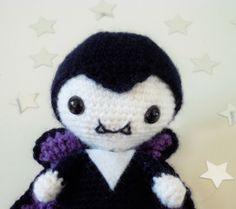 Make It: Vampire - Free Crochet Pattern #crochet #amigurumi #free #ravelry