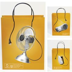 Electricitips: Designer bags made by Meralco, the leading power company in the Philippines.