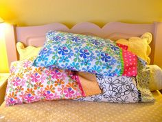 Free Dilly Dally Pillowcase Pattern from Me and My Sister Designs