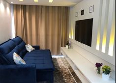 Design Salon, Home Theater, Decoration, Lounge, Couch, Curtains, Room, Furniture, Home Decor