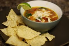 my absolute favorite tortilla soup