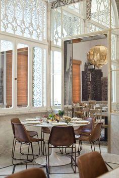 Liza Beirut Restaurant Designed By Marc Soughayar Maria Ousseimi