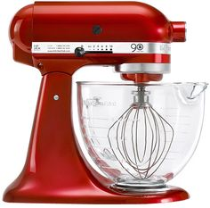 I really wish I had this KitchenAid® 5-Quart Artisan? Design Series Stand Mixer with Glass Bowl! #BedBathAndBeyond
