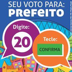 Como votar Ratinho Junior Prefeito. Divulgue em sua página e aos amigos. #novasideiasja