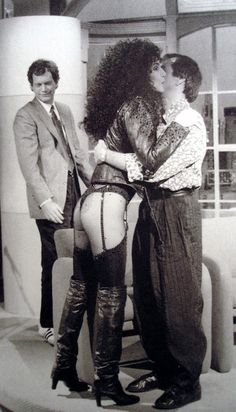 Sonny and Cher!. and David Letterman ...