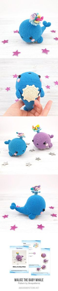 Walice the Baby Whale amigurumi pattern