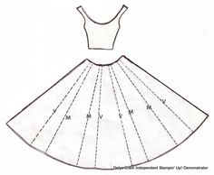dress pattern template