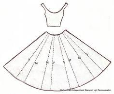 dress pattern template