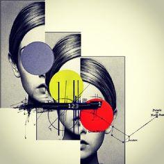 manufav:  Polaris #collageart #collage #teresacucala by teresa_cucala