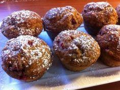 Muffins με φράουλες