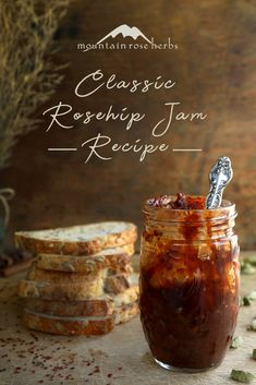 Classic Rosehip Jam Recipe (with Freezer Jam Variation): Rosehips are such a versatile fruit that can be steeped in herbal tea blends, incorporated into DIY skin care products, or made into tart and tasty jams. This classic recipe tastes great on homemade breads and biscuits, and best served with a cup of tea!