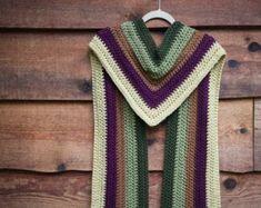 Crochet Scarf Pattern - School of Magic Scarf Caron Cake Crochet Patterns, Caron Cakes Crochet, Octopus Crochet Pattern, Crochet Scarves, Crochet Shawl, Crochet Yarn, Crochet Stitches, Free Crochet, Crochet Top