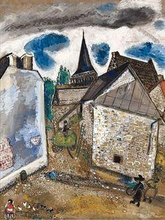 "hitku: ""by Marc Chagall """