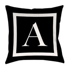 Brockton Personalized Throw Pillow