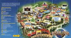 Jedi Mouseketeer: What Will Replace Jaws at Universal Orlando? Universal Studios Orlando Map, Universal Orlando Florida, Universal Studios Parking, Orlando Travel, Orlando Vacation, Disney World Vacation, Florida Vacation, Disney Vacations, Disney Trips